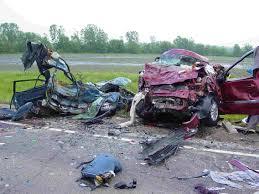 בתאונות הדרכים